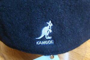 Mens-Classic-Kangol-Wool-504-Ivy-Cap-Color-Dark-Blue