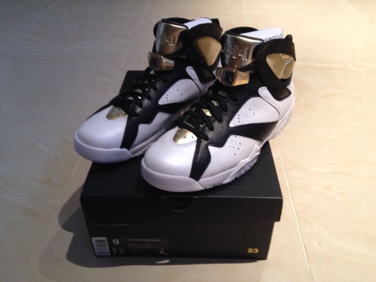 2015 NIKE AIR JORDAN 7 VII CHAMPIONSHIP PACK CHAMPAGNE NEW ALL SIZES 6-12 NEW CHAMPAGNE CIGAR 14c7ed