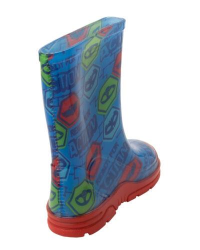 SALE BOYS PJ MASKS CHARACTER WELLIES WELLYS WELLINGTON RAIN BOOTS UK SIZE 5-12