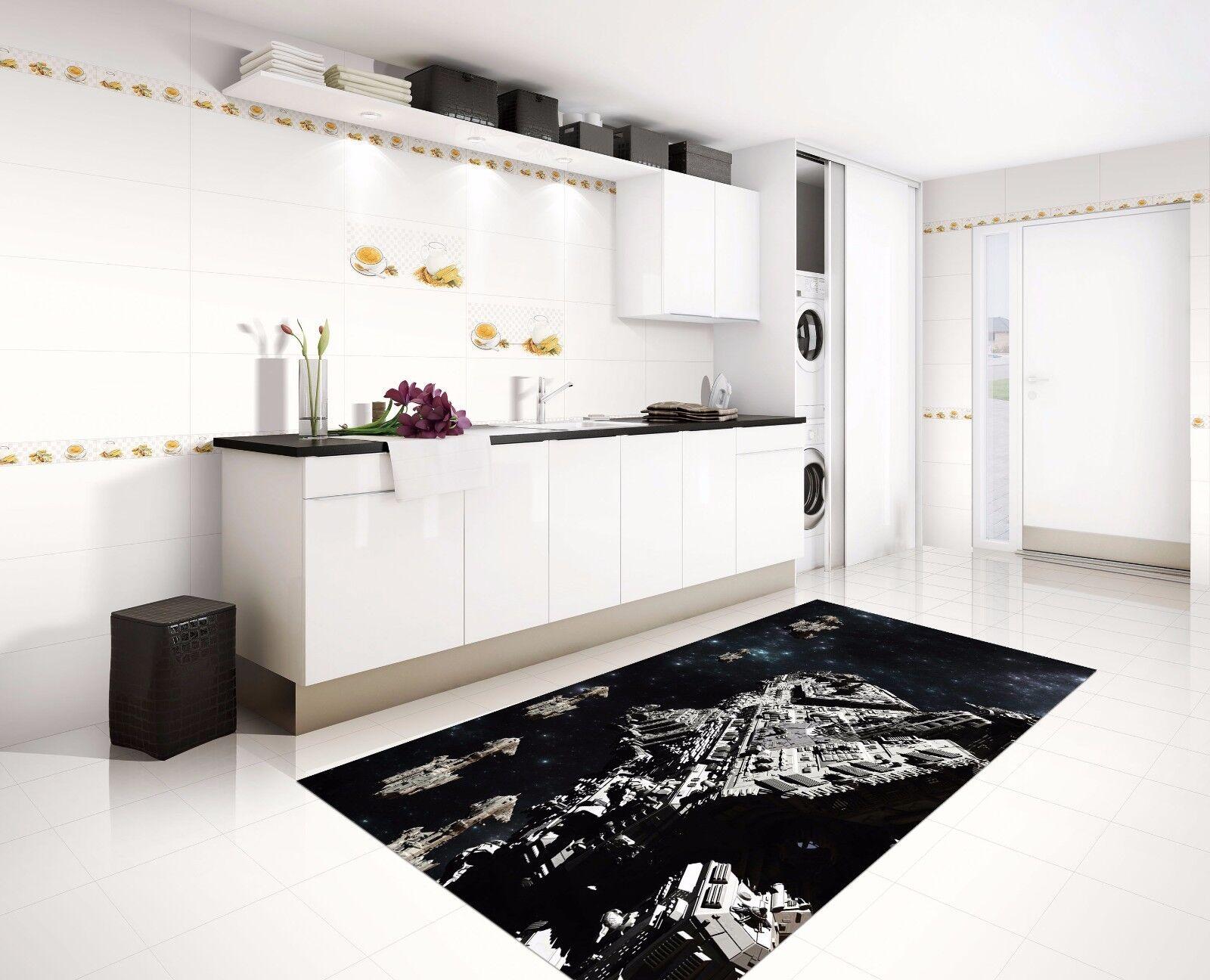 3D Night City 726 Kitchen Mat Floor Murals Wall Print Wall AJ WALLPAPER AU Kyra