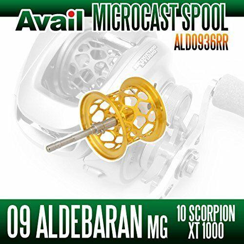 Avail SHIMANO Microcast Spool ALD0936RR gold for Core50Mg, CHRONARCH 50E