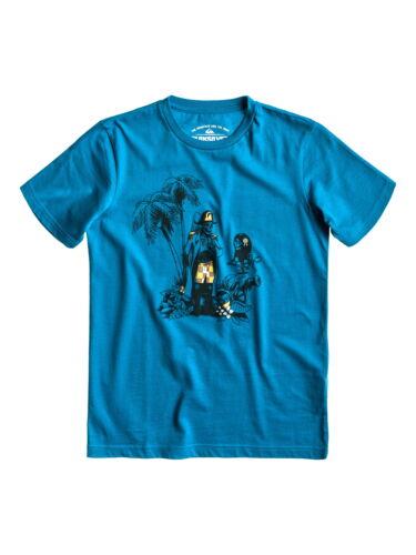QUIKSILVER Basic Tee Youth R16 Jungen KA Shirt Pirate in Blau /%20,00/%