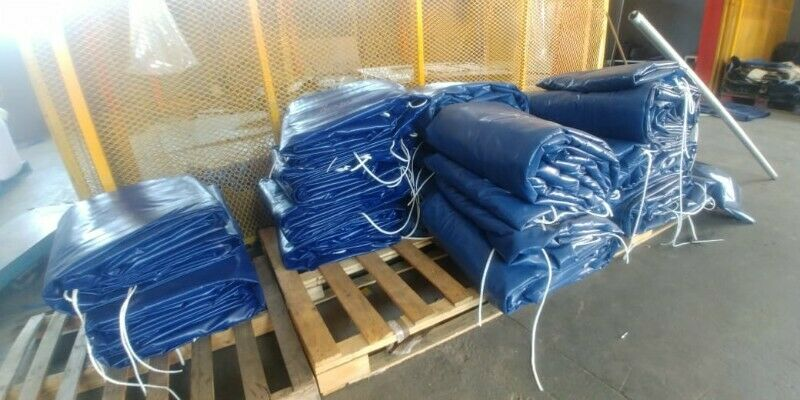 WE MANUFACTURE AND SUPPLY HEAVY DUTY PVC TARPAULINS AND CARGO NETS,NO JOB IS TOO SMALL/TOO BIG
