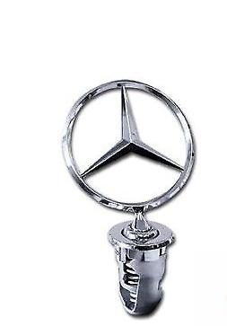 New Genuine Mercedes W124 Bonnet Star Badge Emblem A1248800086 OEM