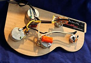 Marvelous Ready Built Gibson 3 Pot Flying V Etc Wiring Upgrade Loom Harness Wiring Cloud Hisonuggs Outletorg