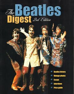 THE-BEATLES-DIGEST-2nd-EDITION-HISTORY-VINTAGE-PHOTO-039-S-ESSAYS-INTERVIEWS