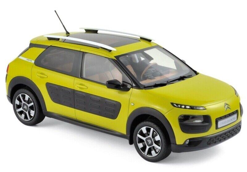 entrega rápida Citroen Citroen Citroen C4 Cactus 2014 Hello amarillo 1 18 NOREV 181650  Garantía 100% de ajuste