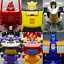 miniature 1 - Hasbro Transformers TITANS RETURN G1 IDW Windcharger Gnaw Action Figure No Box
