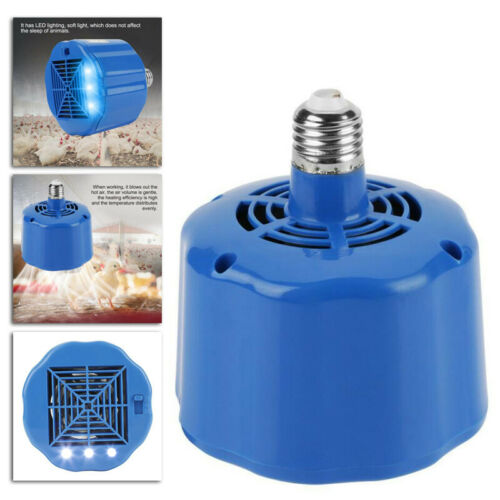 100-300W Cultivation Heating Lamp Thermostat-Fan Heater-Light For Chicken Pigs
