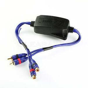 CAR-HOME-STEREO-AUDIO-GROUND-LOOP-ISOLATOR-NOISE-SUPPRESSOR-FILTER-FREE-SHIPPING