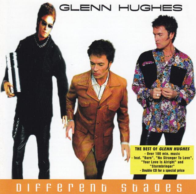 The Best Of GLENN HUGHES - 2 CD - DIFFERENT STAGES