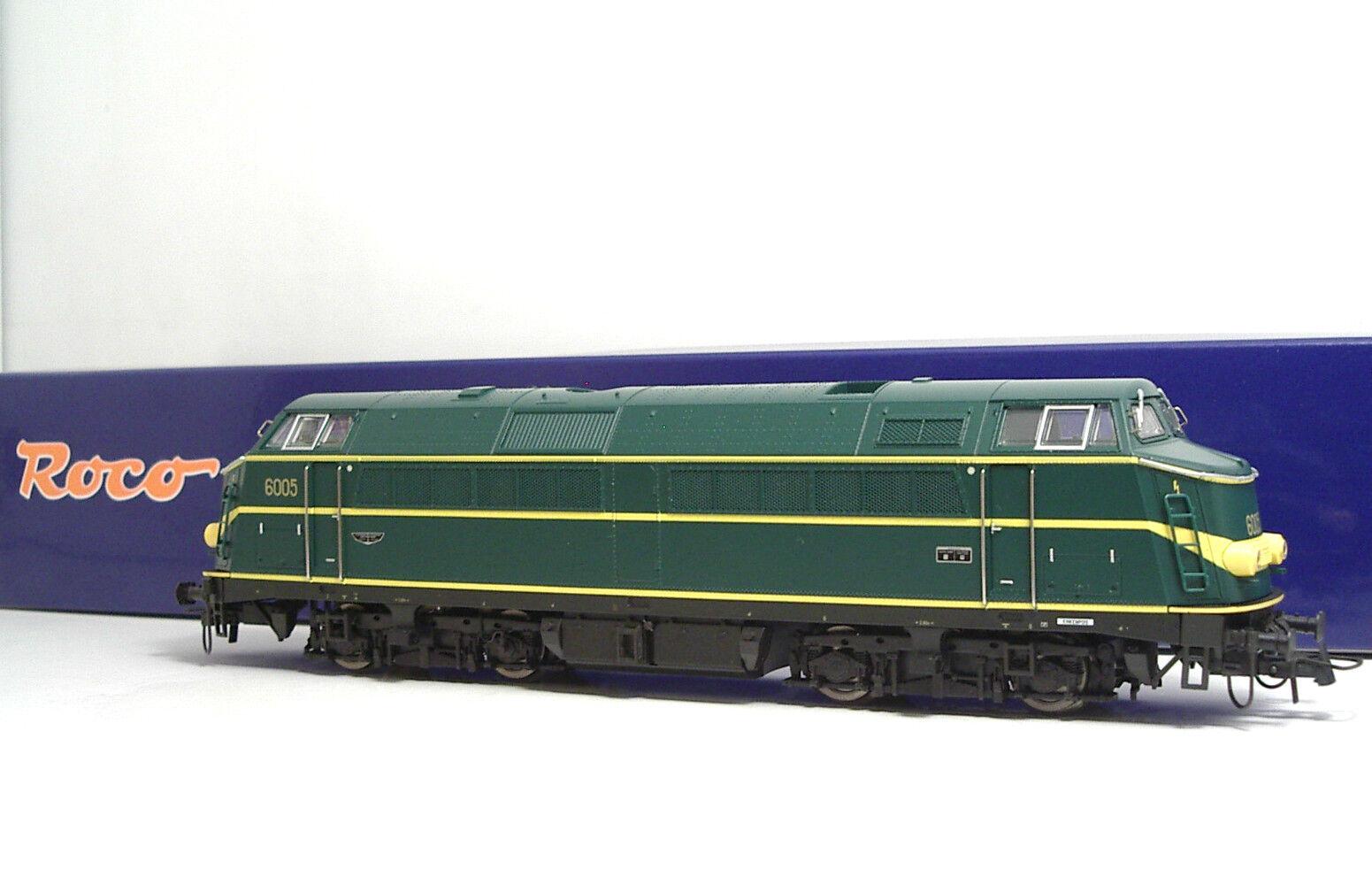 Roco 62897 SNCB Diesellok Series 60 EP III IV