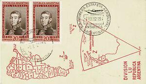 10-x-Polarpost-ARGENTINIEN-1952-1960