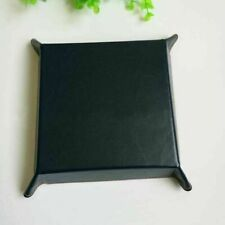 Jewelry Valet Tray Pu Leather Catchall Tray Key Wallet Coin Box Storage 4 Colors