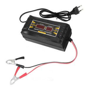 Chargeur-De-Batterie-De-Voiture-De-Prise-D-039-Ue-12V-6A-10A-Plein-Intelligent-C3Y2