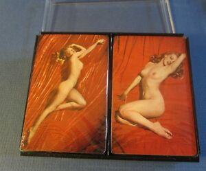 Vintage marilyn monroe playing cards