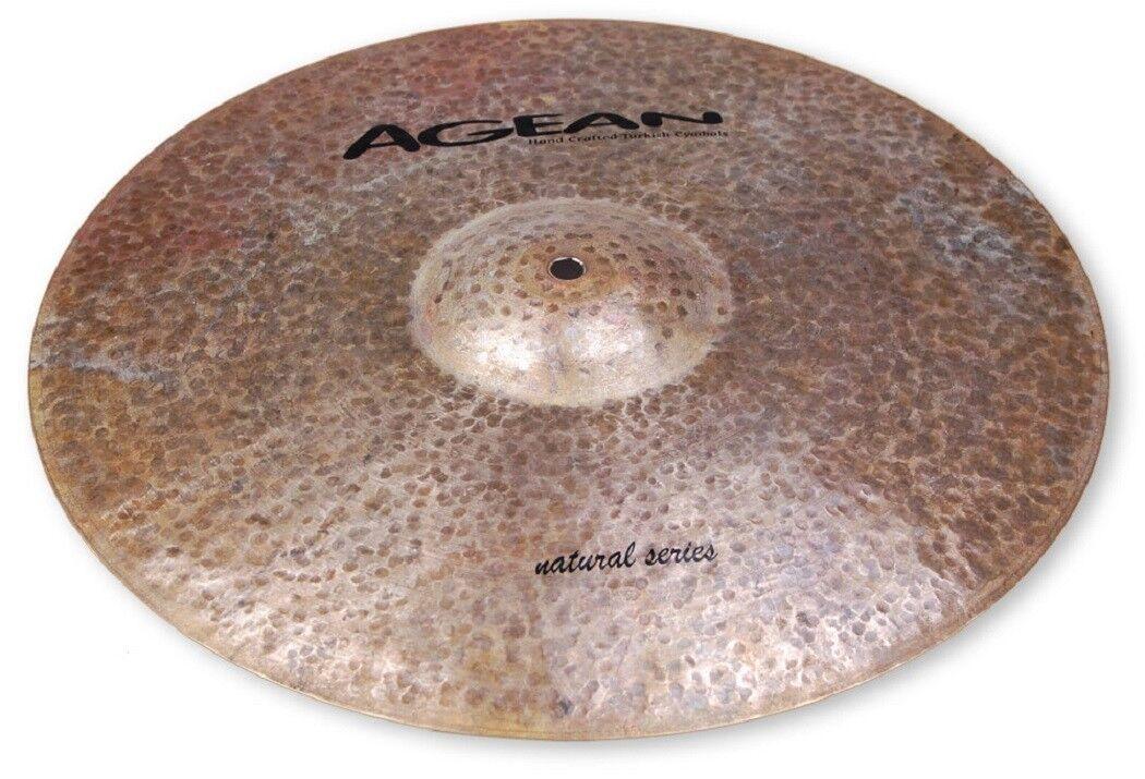Agean Turkish Cymbals Natural Series 18-Zoll Natural Ride Cymbal NTR-R18