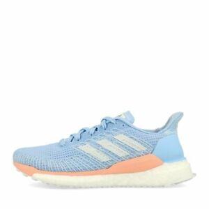heiß Details zu adidas Solar Boost 19 W Glow Blue Blue Tint Glow Pink Laufschuhe Blau Korall  im Angebot