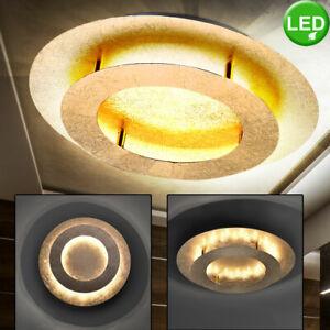Led Decken Lampe Schlafzimmer Kuchen Design Rund Loft Leuchte Gold Farben 40 Cm Ebay