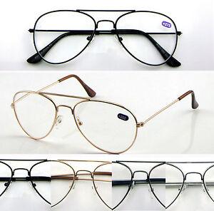 L293-Aviator-Reading-Glasses-50-75-100-125-150-175-200-225-250-300-325-350-375