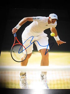 ANDY-MURRAY-SIGNED-AUTOGRAPH-8x10-PHOTO-WIMBLEDON-CHAMP-US-OPEN-IN-PERSON-COA-C