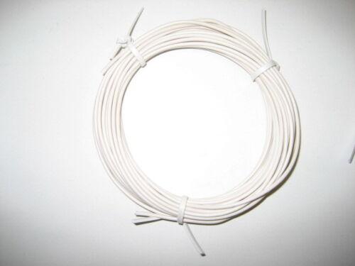 KFZ Kabel Litze Leitung FLRy 0,75mm² 10m weiß Fahrzeug Auto LKW Fahrzeugleitung