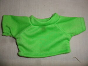 New-Small-T-Shirt-Apple-Green-For-Approx-7-7-8in-Bears