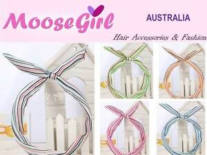 Clothing, Shoes, Accessories Rainbow Strips Pattern Head Wrap Hair Scarf Hair Bow Reshappable Wire Headband