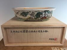 5 Color Classic Painted Shohin Size Ito Gekkou Bonsai Tree Pot, 6 7/8""