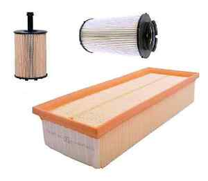 SEAT-ALTEA-1-9-TDI-Oil-Air-amp-Fuel-Filter-Service-Kit-Genuine-Spec-06-gt-Diesel