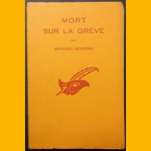Collection-Le-Masque-N-587-MORT-SUR-LA-GREVE-Richard-Keverne-1957