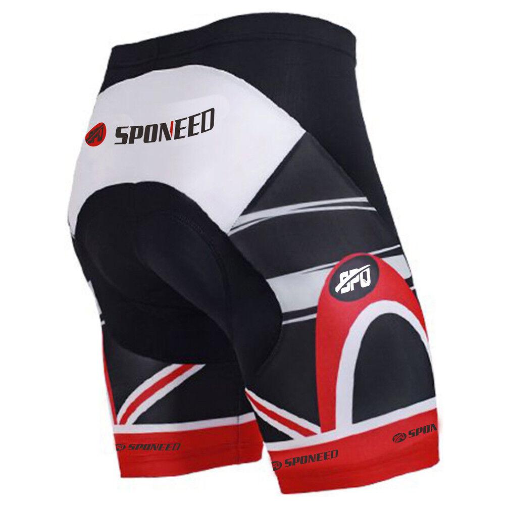 Race Cycling Jersey Padded Bike Short Pants Uomo Kits Sports In esecuzione Bike Wear Kits Uomo 331f14