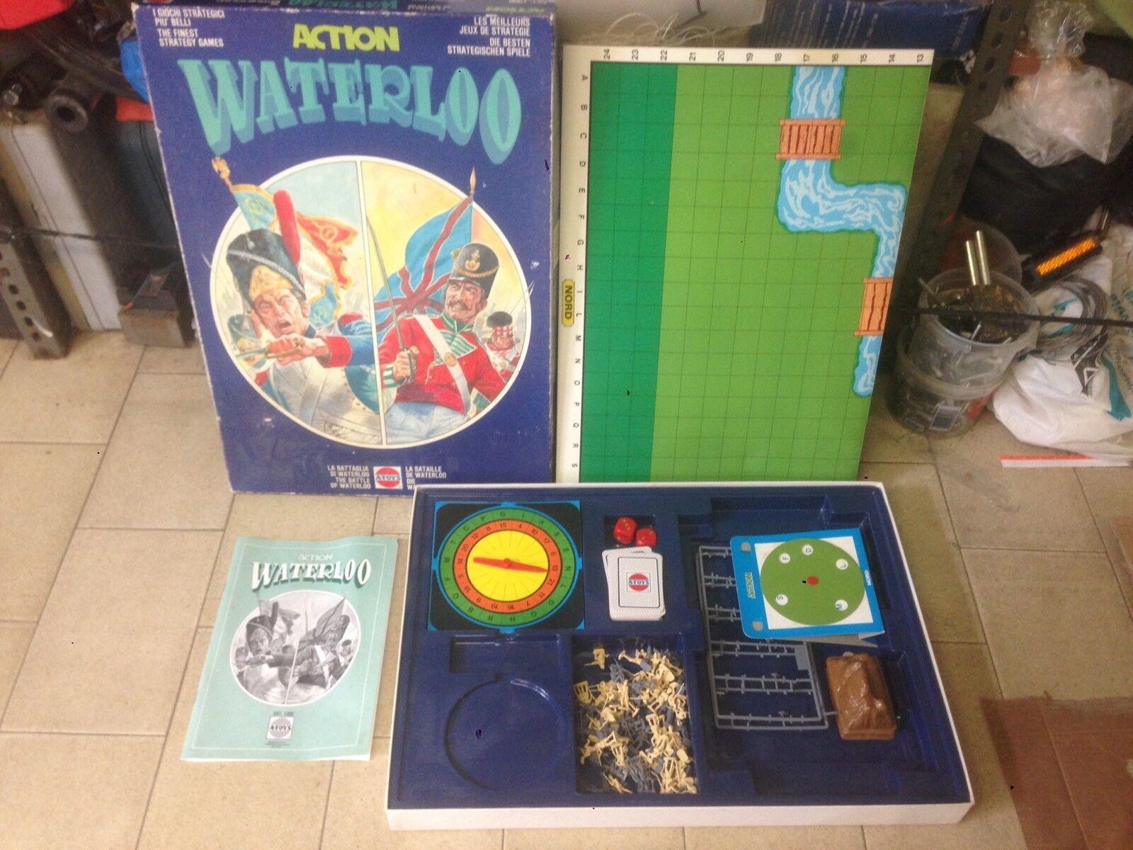 Waterloo A-toys Action Gioco Da Tavolo Board Game 1985 Made In  Atoys