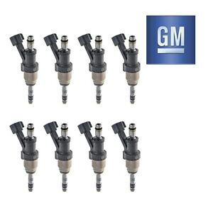 Set-of-8-New-OEM-Fuel-Injector-12668390-For-Chevrolet-GMC-2014-2016