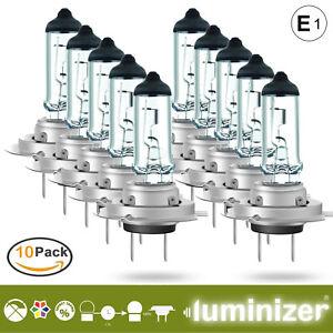 Autolampe 10 x H7 55W 12V HALOGEN LAMPEN Scheinwerfer E1 px26d GS haltige