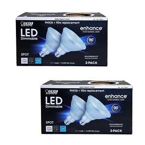 Feit Electric LED Dimmable Spot Enhance Vivid Natural Light Par38 90W Repacement