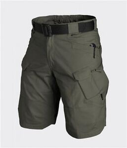 HELIKON-TEX-UTP-URBAN-TACTICAL-CARGO-SHORTS-Outdoor-Hose-kurz-Taiga-green-XXXL