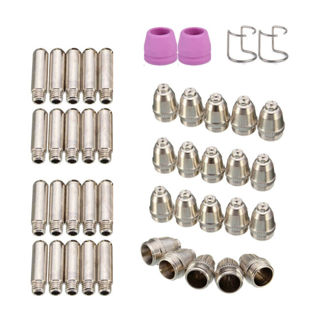 30pc//kit Plasma Cutter Nozzles Electrodes Consumable For AG60 SG55 WSD60 Torch