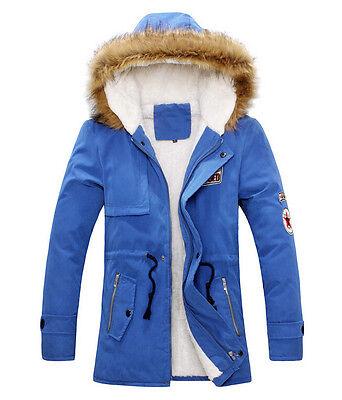 Women Warm Fur Collar Hooded Parka Winter Thick Down Coat Outwear Down Jacket
