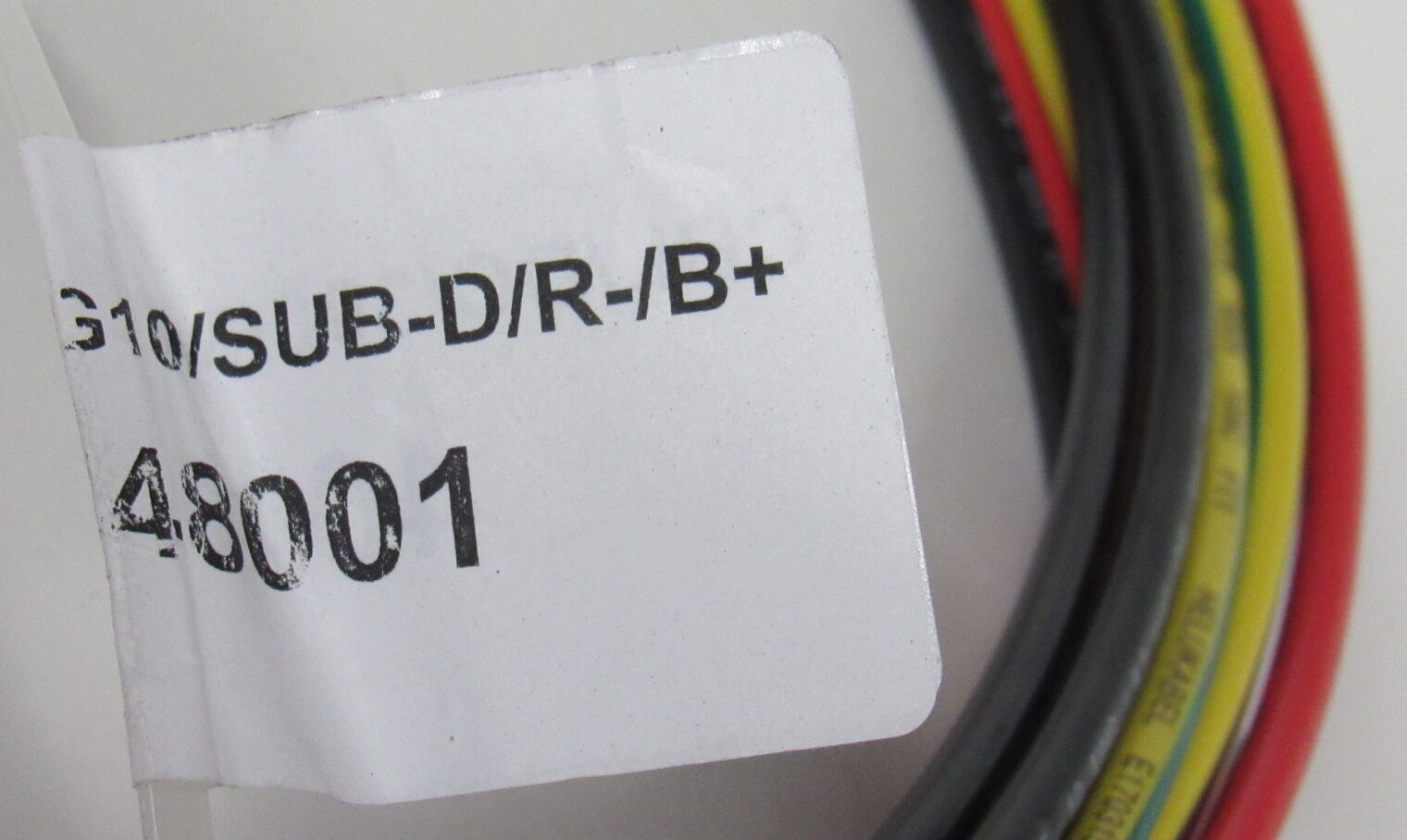 NEW ADVA Optical Networking 3m DC Power Cable 3 Wire AWG10 FSP 3000 SUB-D 800W