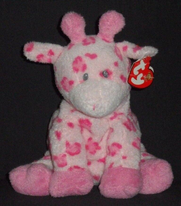 BABY TIPTOP (PINK) THE GIRAFFE - BABY TY - MINT with NON MINT TAG - SEE PICS