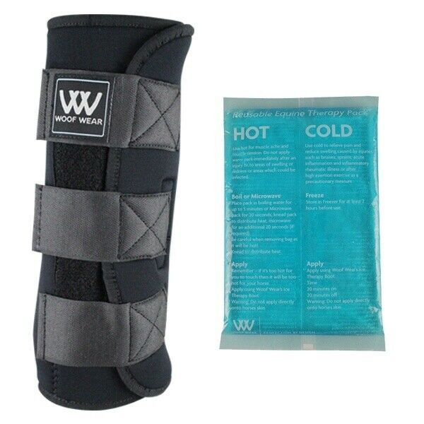 Woof Wear Ice Therapy Horse Stiefel With Therapy Packs