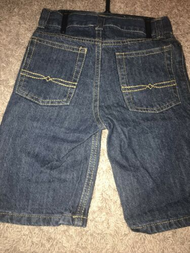 NWT Size 2T Boys Lucky Brand Hooded Shirt And Jeans Shorts 2 Piece Set