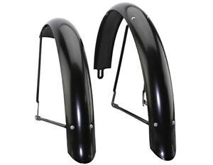 NEW-Bicycle-Fender-26-034-Beach-Cruiser-Flared-Adjustable-Fender-Black-Ducktail