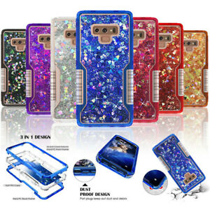 Pour-Samsung-S8-S9-Plus-Note-9-8-Heavy-Duty-Quicksand-Glitter-Liquid-Case-Cover