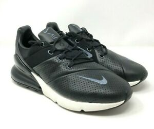 info for f1e57 1caf3 Details about Nike Air Max 270 Premium Men's Shoes Black Leather AO8283-001  Size 9
