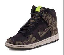 Nike Donna Dunk High Skinny LIBERTY libog QS UK 6 EU Nero 40