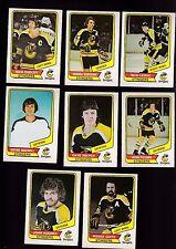 1976 O-PEE-CHEE WHA Team SET Lot of 8 Cincinnati STINGERS NM OPC DUDLEY SOBCHUK