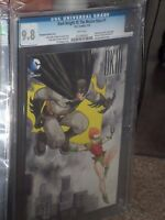 Batman Dark Knight III Master Race #1 Jill Thompson 1:10 Variant CGC 9.8 Miller