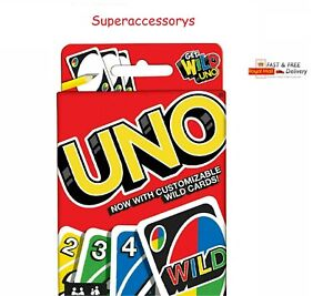 UNO CARD GAME With WILD CARDS Matte Latest Version Family Fun Indoor Party